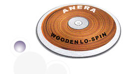 Wooden Lo-spin Discus