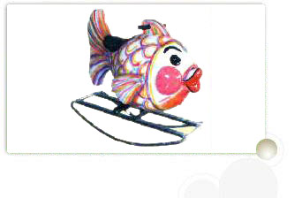 Fishy Rider Toy for Kids