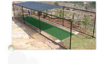 Fixed In Ground Cricket Net Cage