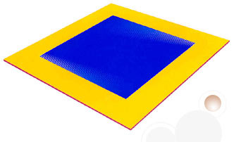 gymnastic floor exercise mats