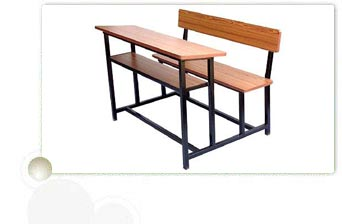 Laminated Board Desk & Bench