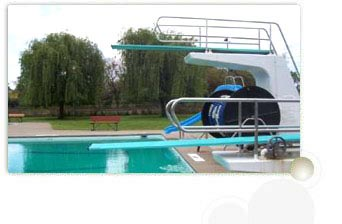Swimming Diving and Jumping Board