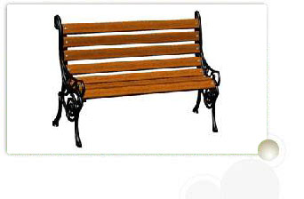 Vintage Victorian Bench